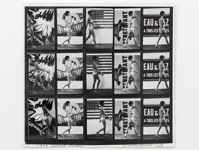Sturtevant, 'Muybridge Plate #97 Woman Walking', 1966