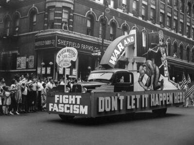 John Albok, 'May Day (Fight Fascism)', 1937