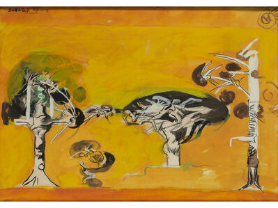 Graham Sutherland, 'Thorn Trees', 1971