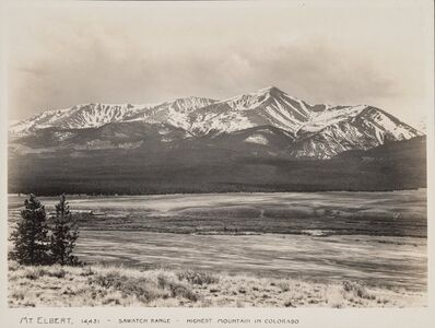 Harry L. Standley, 'The Major Peaks of Colorado (51 works)', circa 1945