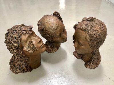 Anne De Villeméjane, 'Conversation | between 3 women (set of 3 resin sculptures)', 2018