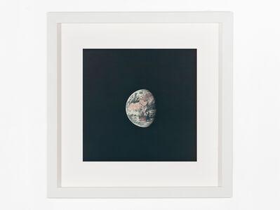 Neil Armstrong, 'Earth during translunar coast using 250-mm lens', 1969