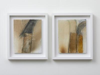 John Blackburn, 'Fire Painting Diptych', 2019