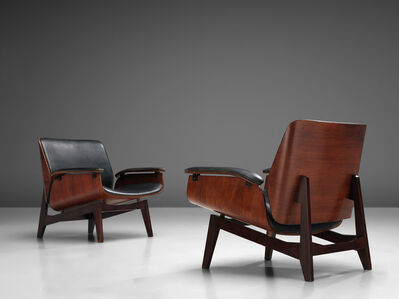 Ico Parisi, 'Pair of Lounge Chairs by MIM', 1960s