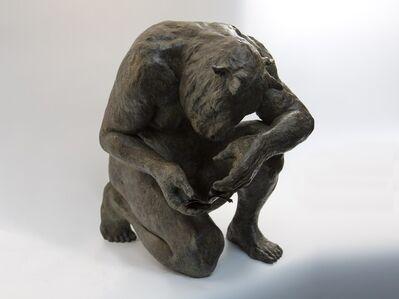 Beth Carter, 'Crouching minotaur'