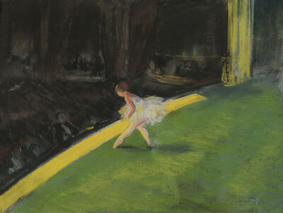 Everett Shinn, 'The Yellow Dancer', 1911