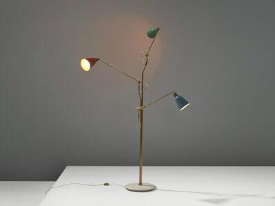 Angelo Lelii, 'Three-Armed Floor Lamp', 1950s