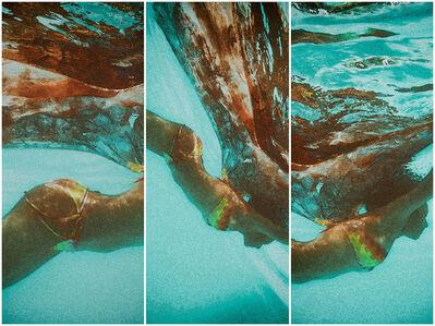 Eileen Lerner, 'Costa Rica Mermaid Triptych', 2019