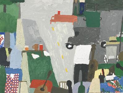 Mariel Capanna, 'Microphones, Ajax, Chickens, Vest', 2019