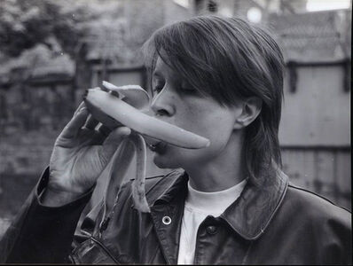 Sarah Lucas, 'Eating A Banana (Revisited)', 1990-2017