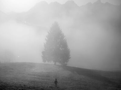 Paolo Pellegrin, 'Family quarantining in the mountains, Switzerland, 2020', 2020