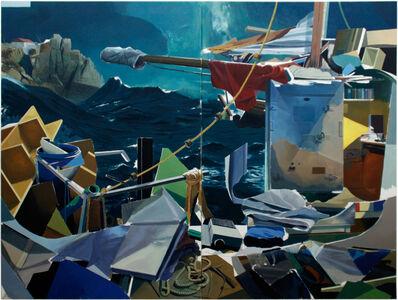 Alfons Pressnitz, 'Bursting Sea - Collapsing Layers', 2020