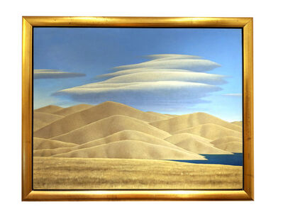 Brent Wong, 'Hills and Dam Lake Under Clouds', 1984-91