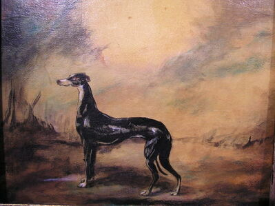 Roger Preston, 'Greyhound'