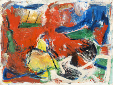Pat Passlof, 'Chestnut Street', 1955