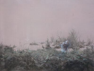 Fu Site 傅斯特, 'Landscape with two gentlemen', 2017