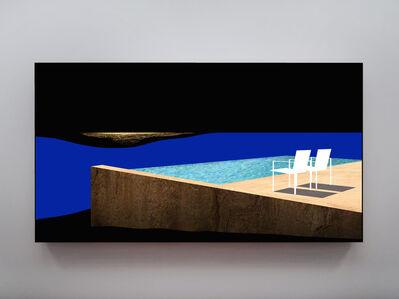 Doug Aitken, 'Shock and Awe (two chairs and pool)', 2019