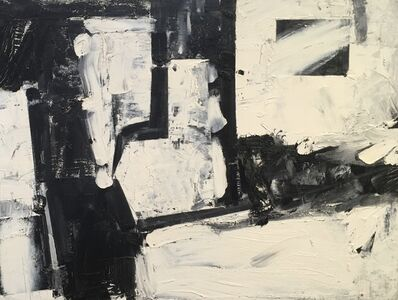 Haynes Ownby, 'Untitled Black and White Composition', 1954
