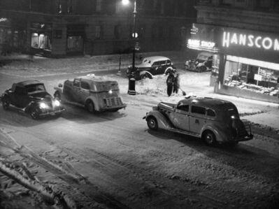 John Albok, '96-97 Streets, Madison Avenue, New York', 1943