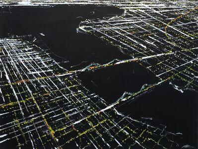 Pete Kasprzak, 'East Side New York Aerial', 2017