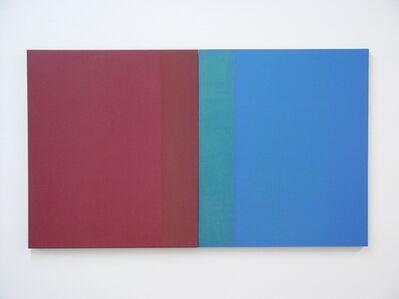 William Lane, 'Red Blue Diptych ', 2009