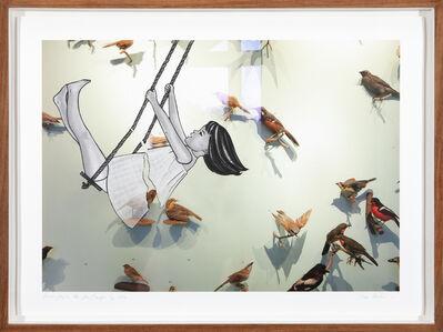 Lien Botha, 'Birds fragile like glass/Saartjie', 2018