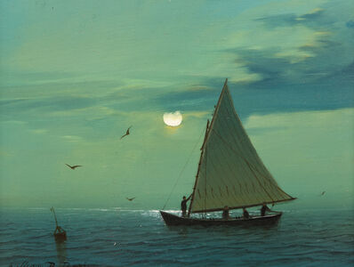 William R. Davis, 'Moon Sail', 2016