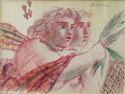 Alekos Fassianos, 'Couple ', 1980