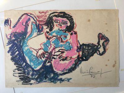 Iberê Camargo, 'Jackie Onassis', 1972