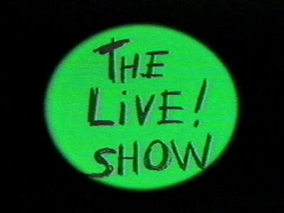 Jaime Davidovich, 'The Live! Show Promo', 1983