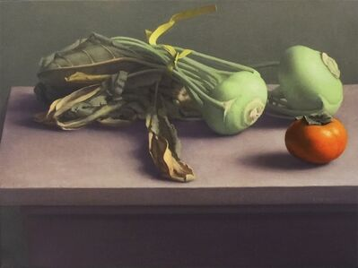 Amy Weiskopf, 'Still Life with Kohlrabi and Persimmon', 2014