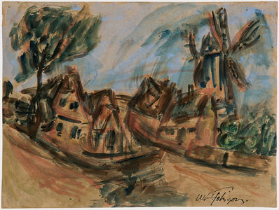 William Henry Johnson, 'Mølle, Kerteminde', c. 1930-35
