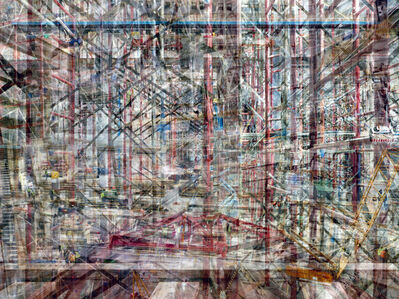 Shai Kremer, 'W.T.C: Concrete Abstract #4', 2011-2013