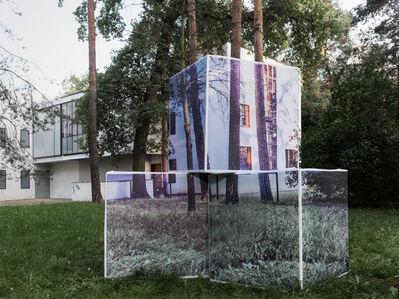 Georg Brückmann, 'Bauhaus Dessau 09 -  Feininger 1', 2017