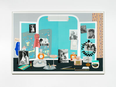 Matthew Brannon, 'Jacqueline Kennedy's White House Dressing Table (Deux)', 2019