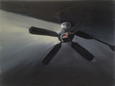 Shirley Irons, 'Second Black Ceiling Fan', 2018