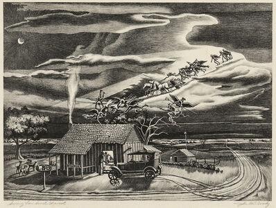 John McCrady, 'Swing Low, Sweet Chariot', 1941