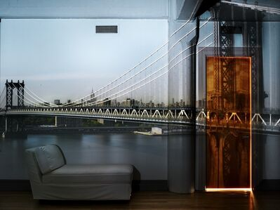 Abelardo Morell, 'Camera Obscura: View of the Manhattan Bridge, April 30th, Afternoon', 2010