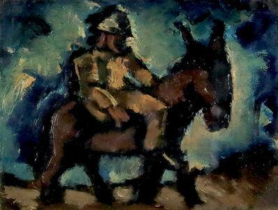 Josef Herman RA, 'Man with a Donkey', ca. 20th century
