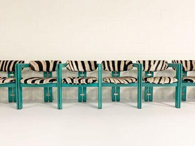 Augusto Savini, 'Pamplona Dining Chairs in Zebra, set of 8', 1960s