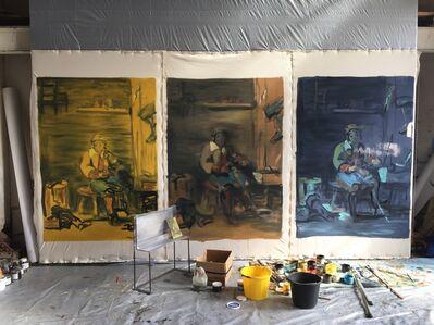 Tom Ellis, 'Yellow Bucket', 2016