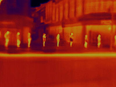 Antoine D'Agata, 'Avenue de Clichy. Day 0 of Paris Lockdown during Covid19 Crisis, 2020', 2020