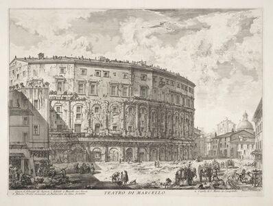 Giovanni Battista Piranesi, 'Teatro di Marcello', 1749-1750