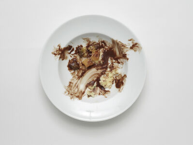 Simon Dybbroe Møller, 'Negative Plate (Sauerbraten with swede and potato celeriac mash)', 2013