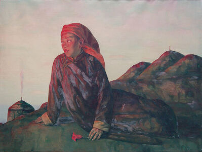 Su Xinping 苏新平, 'Looking Into the Distance From a High Plac  在高处眺望', 2008