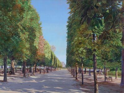 John Morrell, 'Sentier Tuileries', 2017