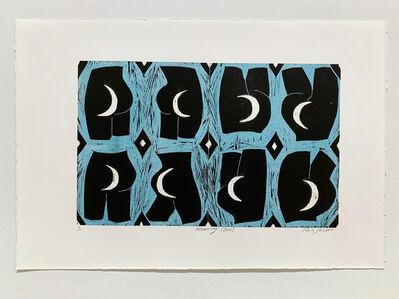 Paula Wilson, 'Mooning (Blue)', 2019