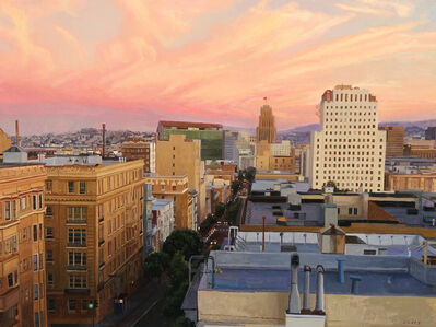 Greg Gandy, 'Sunset over the Tenderloin'