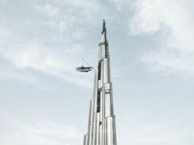 Cédric Delsaux, 'Stop at Burj Dubai, Dubai', 2009