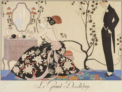 Georges Barbier, 'Le Grand décolletage', 1924
